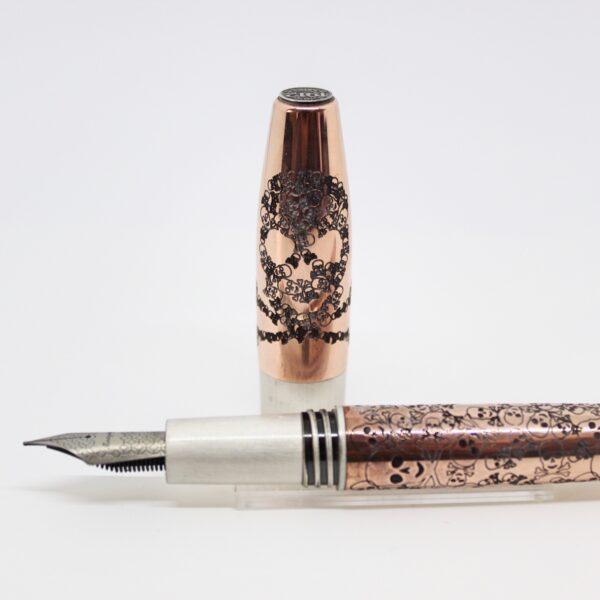 penna-stilografica-Montegrappa-fortuna-Skull-copper