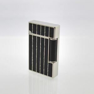 accendino-linea-2-lacca-cinese-nera-righe-verticali