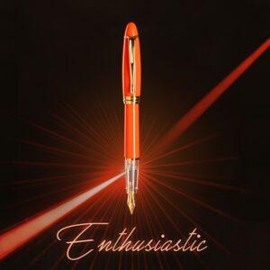 penna-stilografica-Aurora-ipsilon-demo-colors-arancione